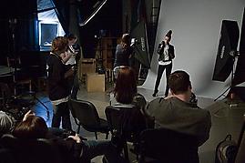 Курс студийной фотографии   группа 24С   фото Сергея Дуброва